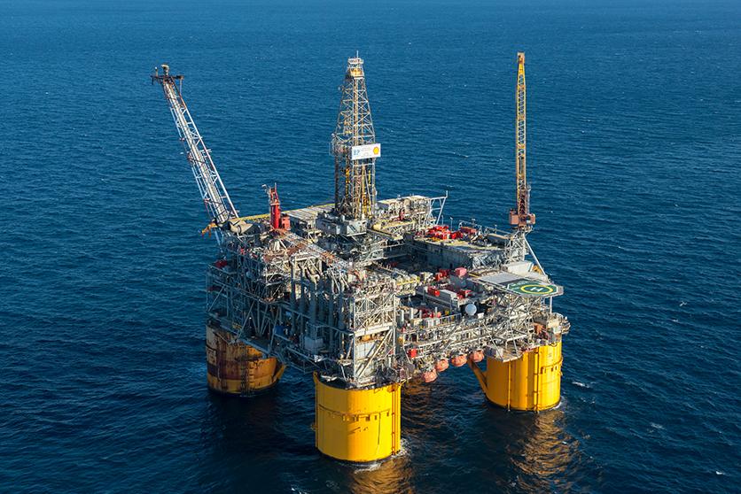 Plataforma no Golfo do México, EUA / Fonte: Shell