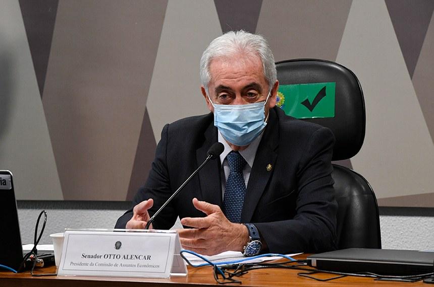 Senador Otto Alencar (PSD-BA), presidente da CAE / Créditos: Edilson Rodrigues, da Agência Senado