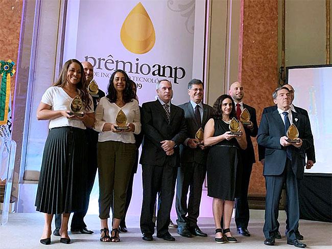 Cerimônia de premiação do Prêmio ANP de Inovação Tecnológica 2019 / Fonte: ANP